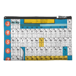 Oxygentees Periodic Table Bagettes Bag Travel Accessories Bag