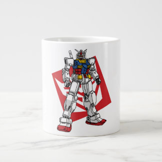 Oxygentees Robot Giant Coffee Mug