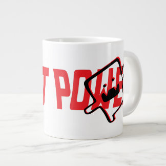 Oxygentees Robot Power Large Coffee Mug