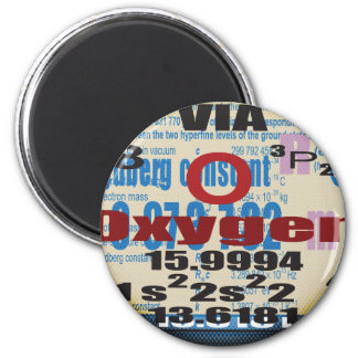 Oxygentees Romberg Constant 2 Inch Round Magnet