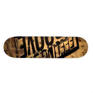 Oxygentees Rusted Out Board Custom Skate Board
