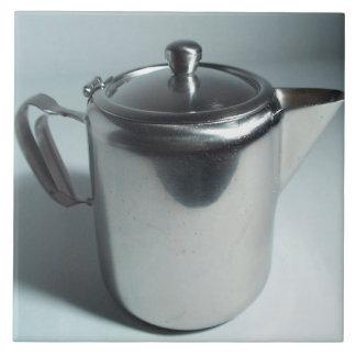 Oxygentees Silver Tea Large Square Tile