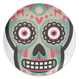 Oxygentees Skull Candy Plate