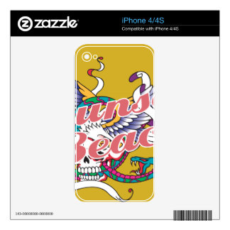 Oxygentees Sunset Beach Decal For The iPhone 4S