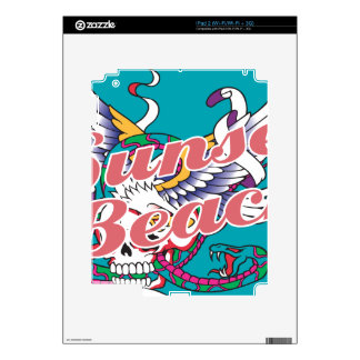 Oxygentees Sunset Beach Skin For The iPad 2