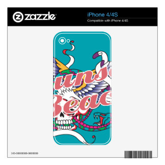 Oxygentees Sunset Beach Skin For The iPhone 4S