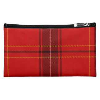Oxygentees Tartan Red Plaid Cosmetic Bags