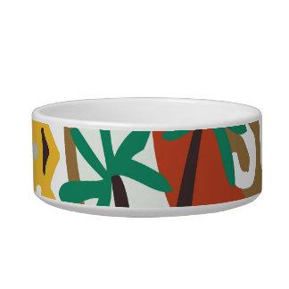 Oxygentees Tiki Life Dog Bowl