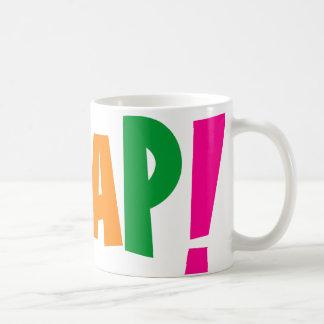 Oxygentees Whap! Classic White Coffee Mug