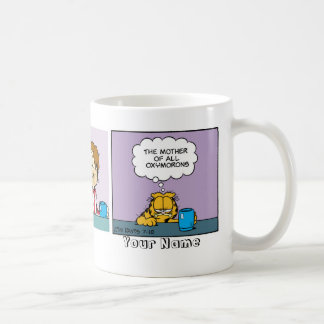 """""""Oxymorons"""" Garfield Comic Strip Coffee Mug"""