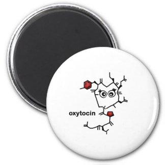 Oxytocin 2 Inch Round Magnet