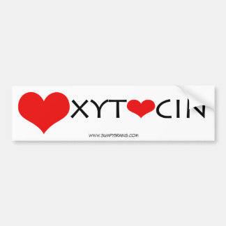 Oxytocin Bumper Car Bumper Sticker