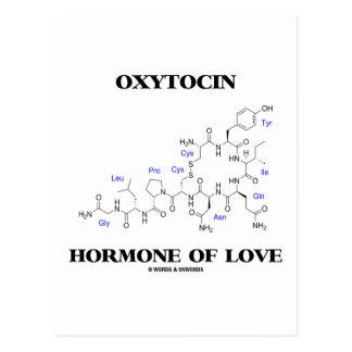 Oxytocin Hormone Of Love (Chemistry) Postcard