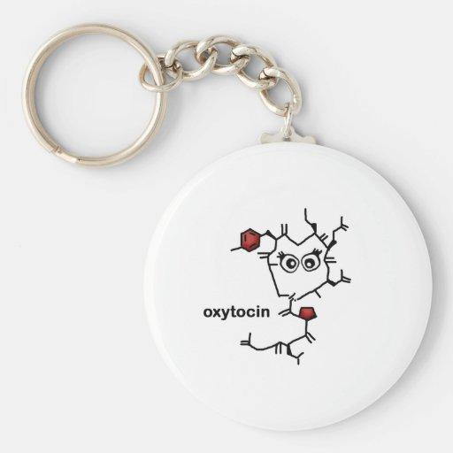 Oxytocin Key Chain