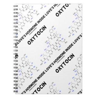 Oxytocin Love's Hormone Inside (Chemistry) Spiral Note Book
