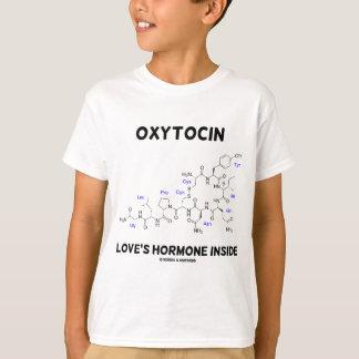 Oxytocin Love's Hormone Inside (Chemistry) T-Shirt