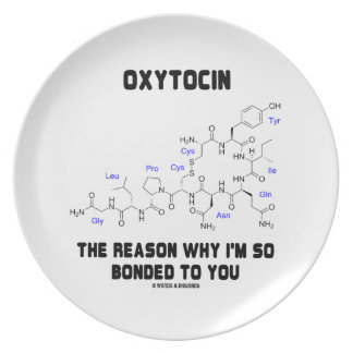 Oxytocin The Reason Why I'm So Bonded To You Plates