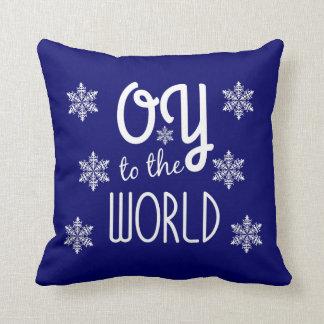 OY a la almohada de tiro del humor del día de Cojín Decorativo