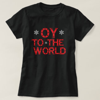 OY al mundo Playera