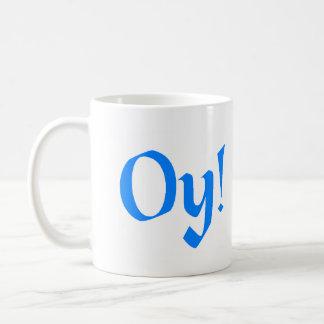 Oy! Classic White Coffee Mug