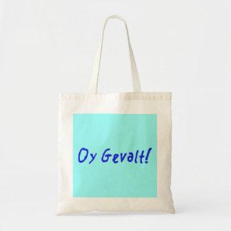 Oy Gevalt! Budget Tote Bag