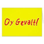 ¡Oy Gevalt! Felicitaciones