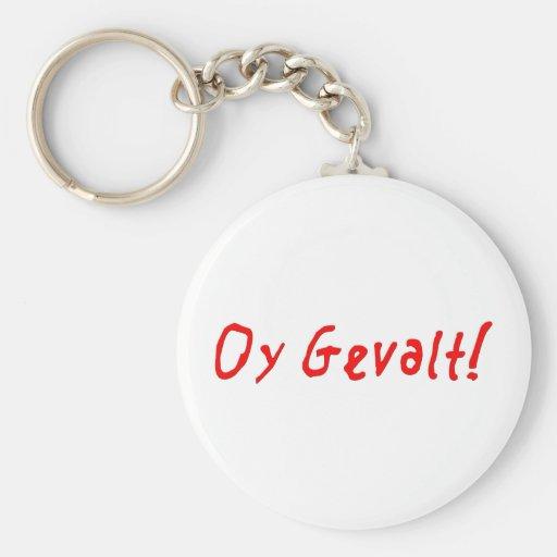 ¡Oy Gevalt! Llavero Personalizado