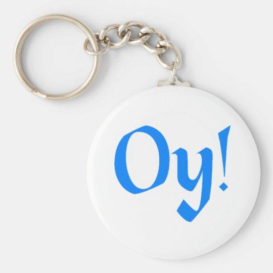 Oy! Keychain