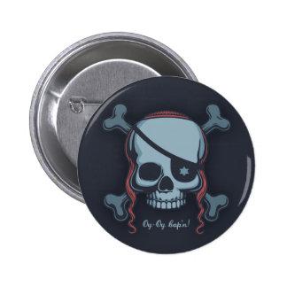 Oy-Oy, Cap'n! Pinback Button