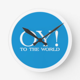 OY TO THE WORLD Clock