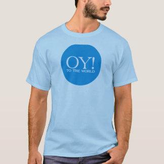 Oy to the World Hanukah Tee