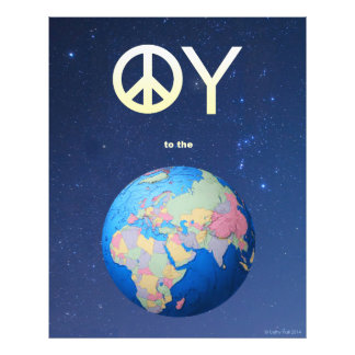 Oy to the World Photo Print