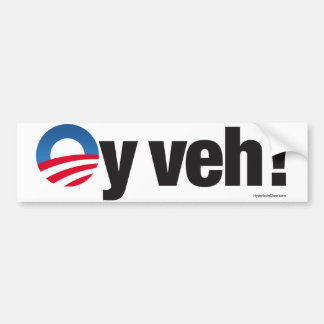 Oy Veh bumper sticker
