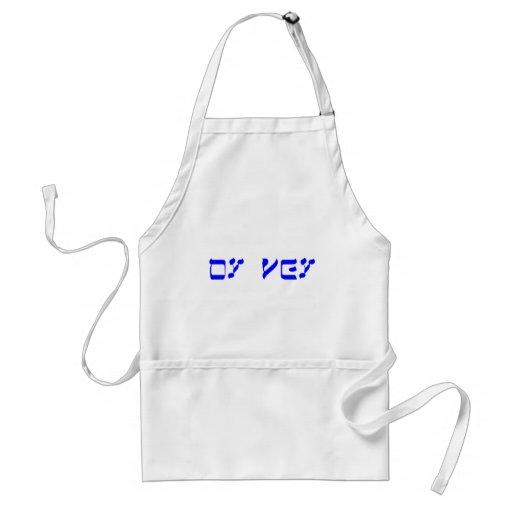 oy vey adult apron