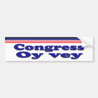 Oy Vey Car Bumper Sticker