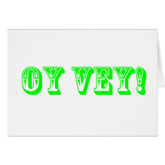 OY VEY Card