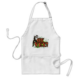 OY VEY - Cool Design with screaming man Adult Apron