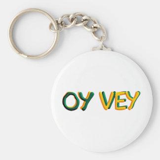 Oy Vey Keychain