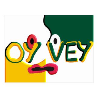 Oy Vey Postcard