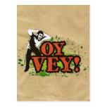 OY VEY - Refresque el diseño con el hombre de grit Postal