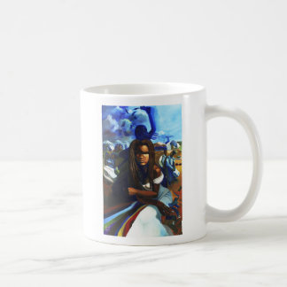 'Oya at the Marketplace' ceramic mug