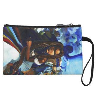 'Oya at the Marketplace' purse