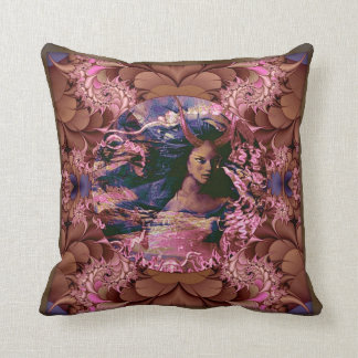 Oya, Goddess of the winds and travel. Pillows