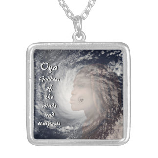 Oya Silver Plated Necklace