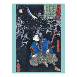 Oya taro mitsukuni by Taiso, Yoshitoshi Ukiyoe Postcard