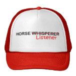 Oyente del caballo gorro