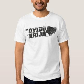 Oyibo in Naija Tee Shirt