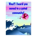 """""""Oyó que usted se trasladó postal de una comunidad"""