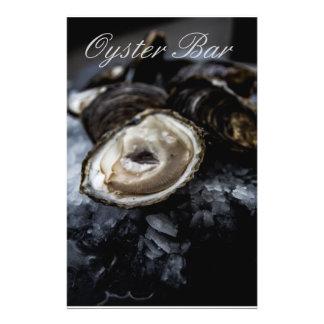 Oyster bar flyer