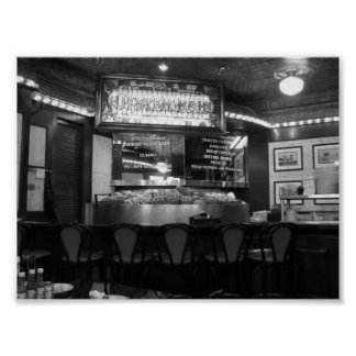 Oyster Bar French Quarter New Orleans, Louisiana Poster